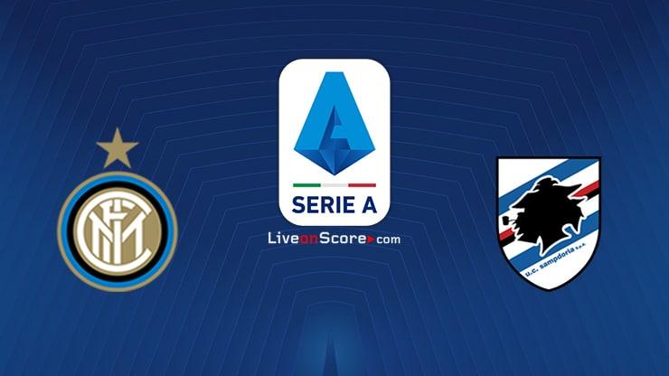 Inter vs Sampdoria Preview and Prediction Live stream Serie Tim A 2021
