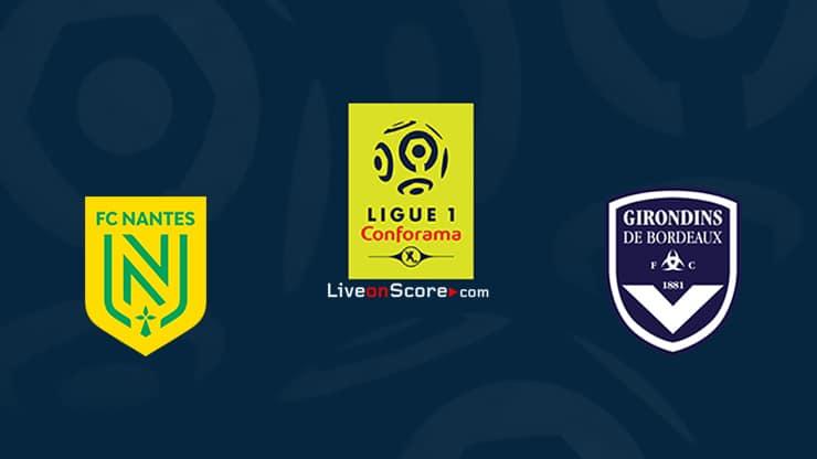 Nantes vs Bordeaux Preview and Prediction Live stream Ligue 1 – 2021