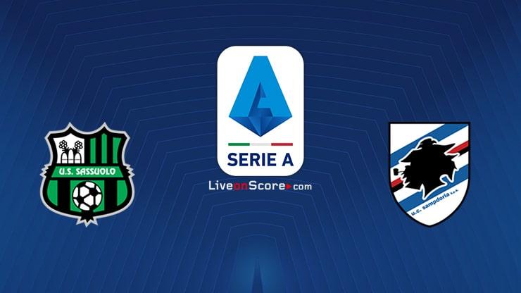 Sassuolo vs Sampdoria Preview and Prediction Live stream Serie Tim A 2021