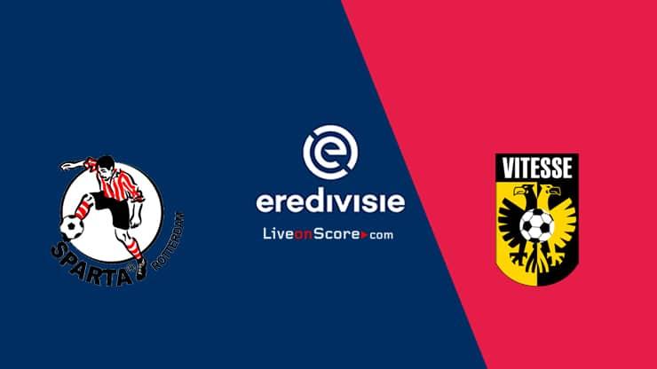 Sparta Rotterdam vs Vitesse Preview and Prediction Live stream  Eredivisie 2021