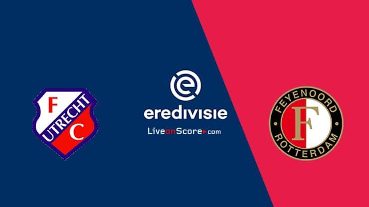 Utrecht vs Feyenoord Preview and Prediction Live stream  Eredivisie 2021