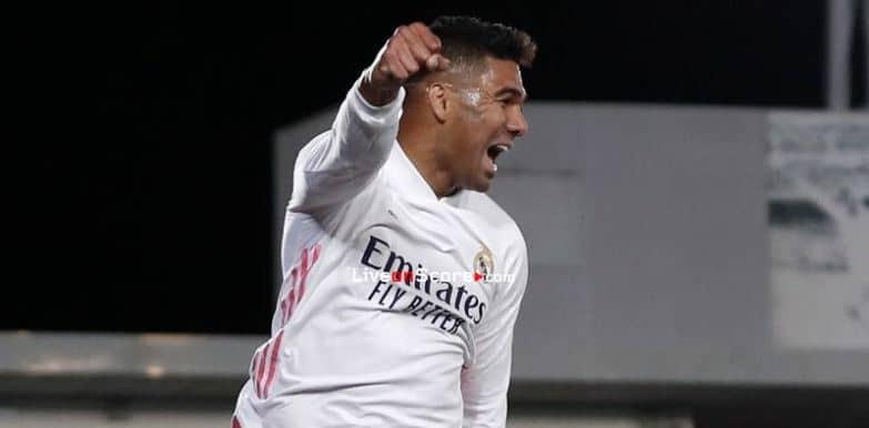 Casemiro smashes his LaLiga goalscoring record