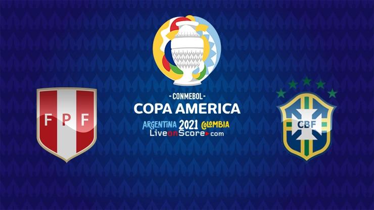 Peru vs Brazil Preview and Prediction Live stream – Copa America  2021