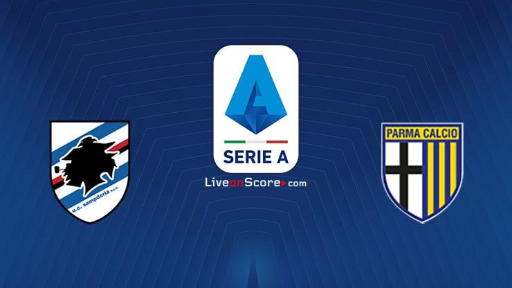 Sampdoria vs Parma Preview and Prediction Live stream Serie Tim A 2021