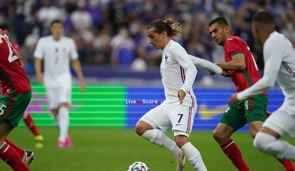 Greizmann on target against Bulgaria