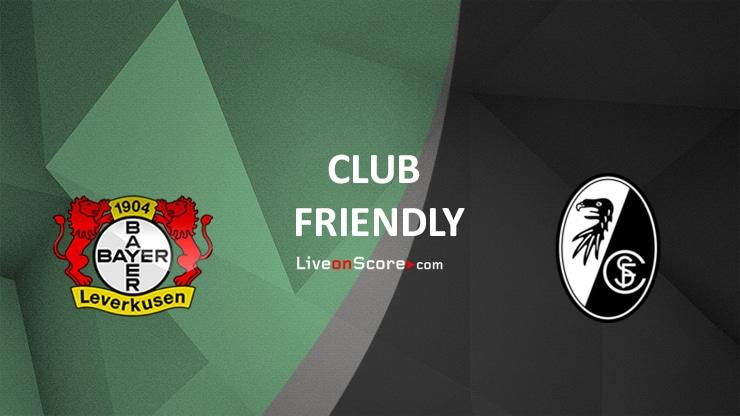 Bayer Leverkusen vs Freiburg Preview and Prediction Live stream Club Friendly 2021