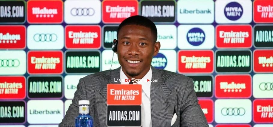 """Alaba: """"It's a dream come true, joining the biggest club in the world"""""""