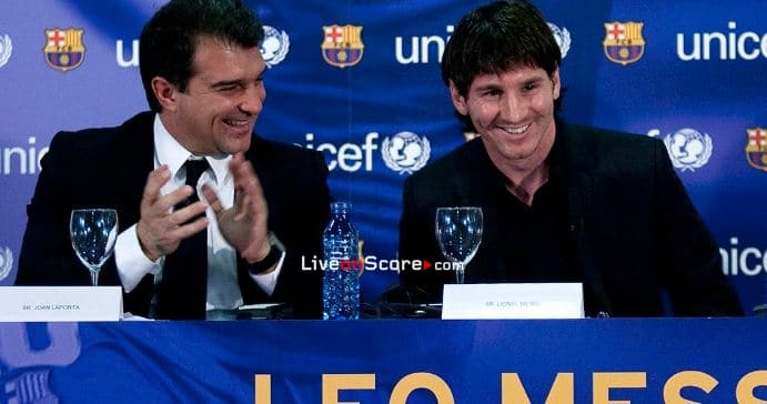 Laporta: 'Messi says he wants to stay'