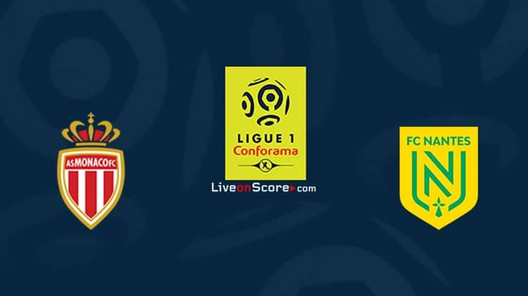Monaco vs Nantes Preview and Prediction Live stream Ligue 1 – 2021/2022