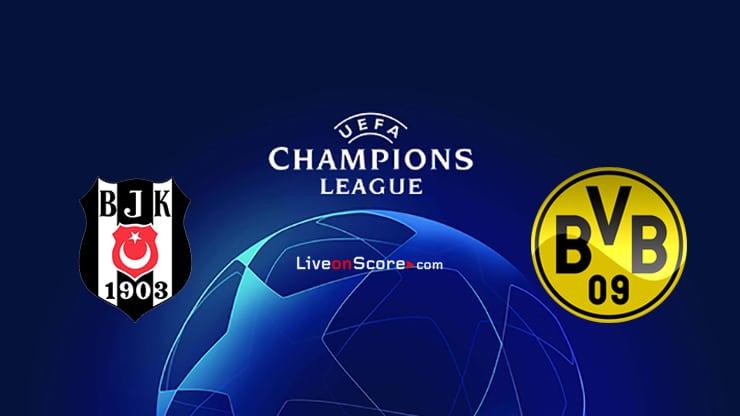 Besiktas vs Dortmund Preview and Prediction Live stream UEFA Champions League 2021/2022