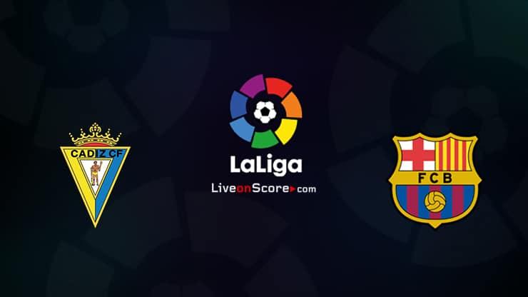 Cadiz CF vs Barcelona Preview and Prediction Live stream LaLiga Santander 2021/2022 - LiveonScore.com