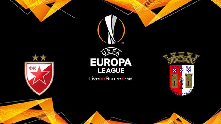 Crvena zvezda vs Braga Preview and Prediction Live stream UEFA Europa League 2021/2022