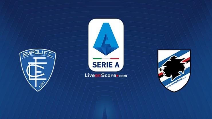 Empoli vs Sampdoria Preview and Prediction Live stream Serie Tim A 2021/2022