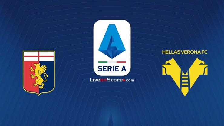 Genoa vs Verona Preview and Prediction Live stream Serie Tim A 2021/2022