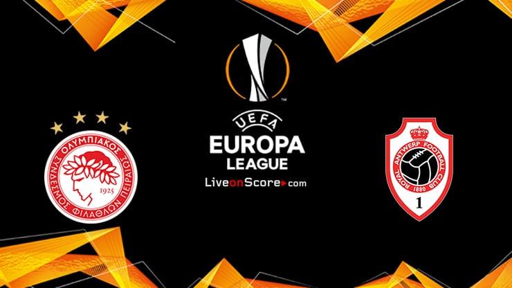 Olympiacos Piraeus vs Antwerp Preview and Prediction Live stream UEFA Europa League 2021/2022