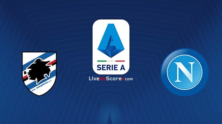Sampdoria vs Napoli Preview and Prediction Live stream Serie Tim A 2021/2022