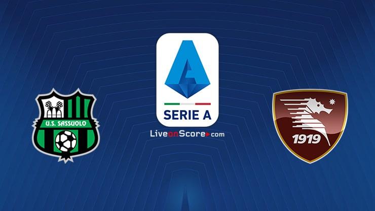 Sassuolo vs Salernitana Preview and Prediction Live stream Serie Tim A 2021/2022