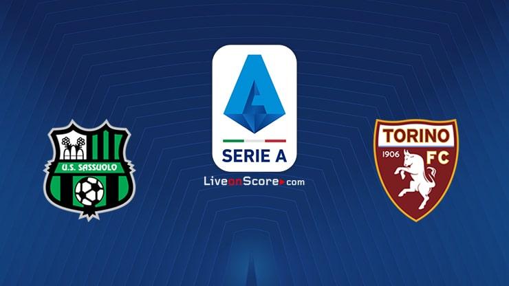Sassuolo vs Torino Preview and Prediction Live stream Serie Tim A 2021/2022