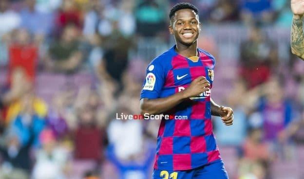 Ansu Fati scores the best goal in September