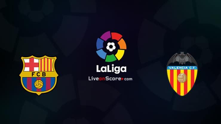Barcelona vs Valencia Preview and Prediction Live stream LaLiga Santander 2021/2022