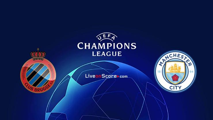 Club Brugge KV vs Manchester City Preview and Prediction Live stream UEFA Champions League 2021/2022