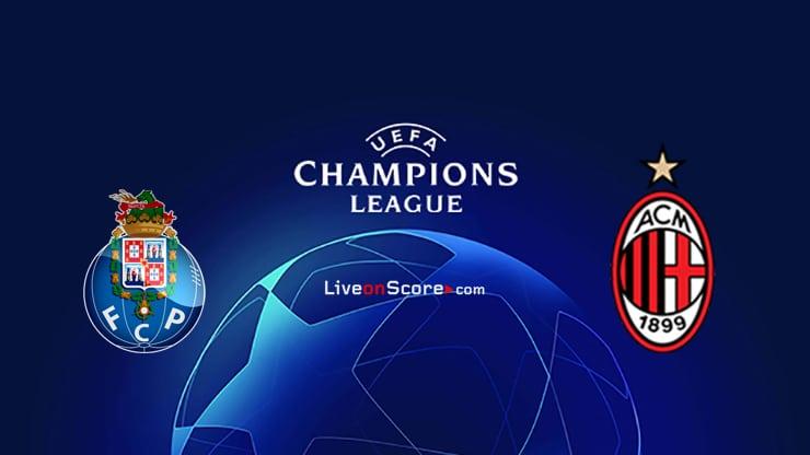 FC Porto vs AC Milan Preview and Prediction Live stream UEFA Champions League 2021/2022