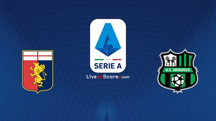 Genoa vs Sassuolo Preview and Prediction Live stream Serie Tim A 2021/2022