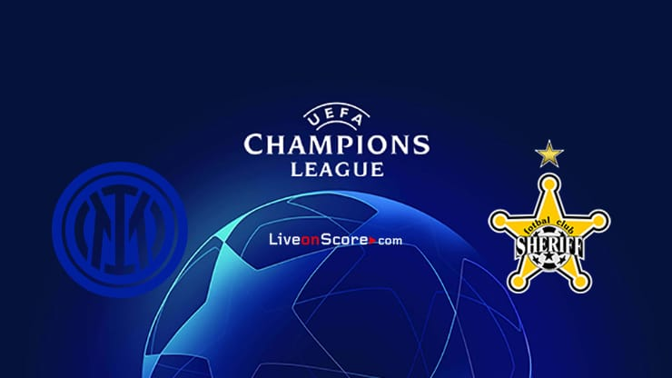 Inter vs Sheriff Tiraspol Preview and Prediction Live stream UEFA Champions League 2021/2022