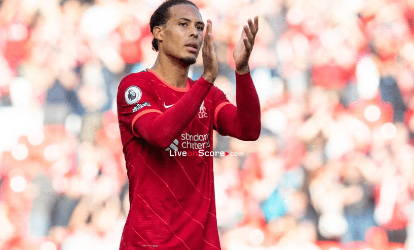 Van Dijk is the complete centre-back and Konate is doing really well